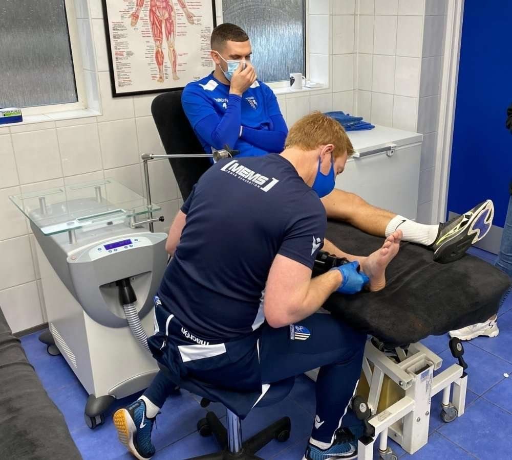 Zimmer Cryo6 Being Used at Gillingham F.C.