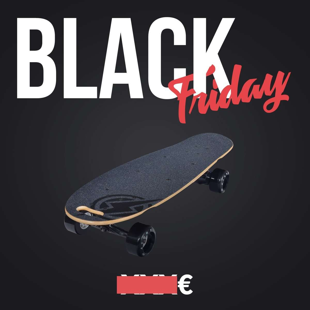 skate electrique black friday atom electric