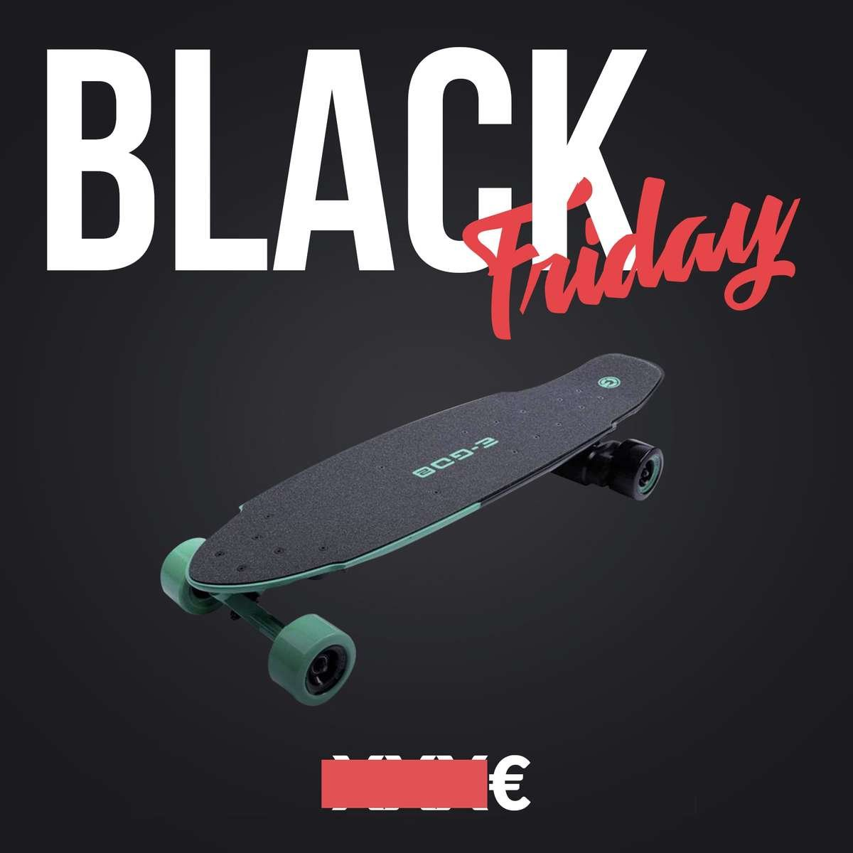 skate electrique black friday yuneec ego2