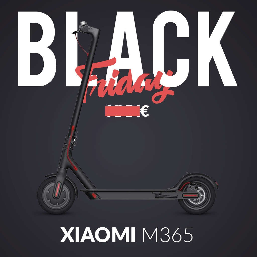 trottinette electrique black friday xiaomi m365