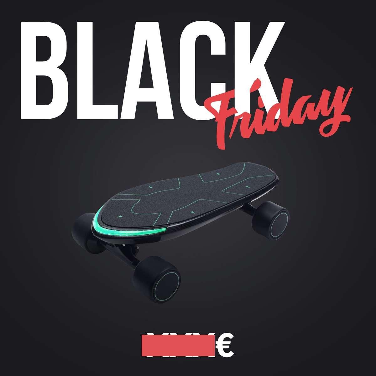 skate electrique black friday spectra