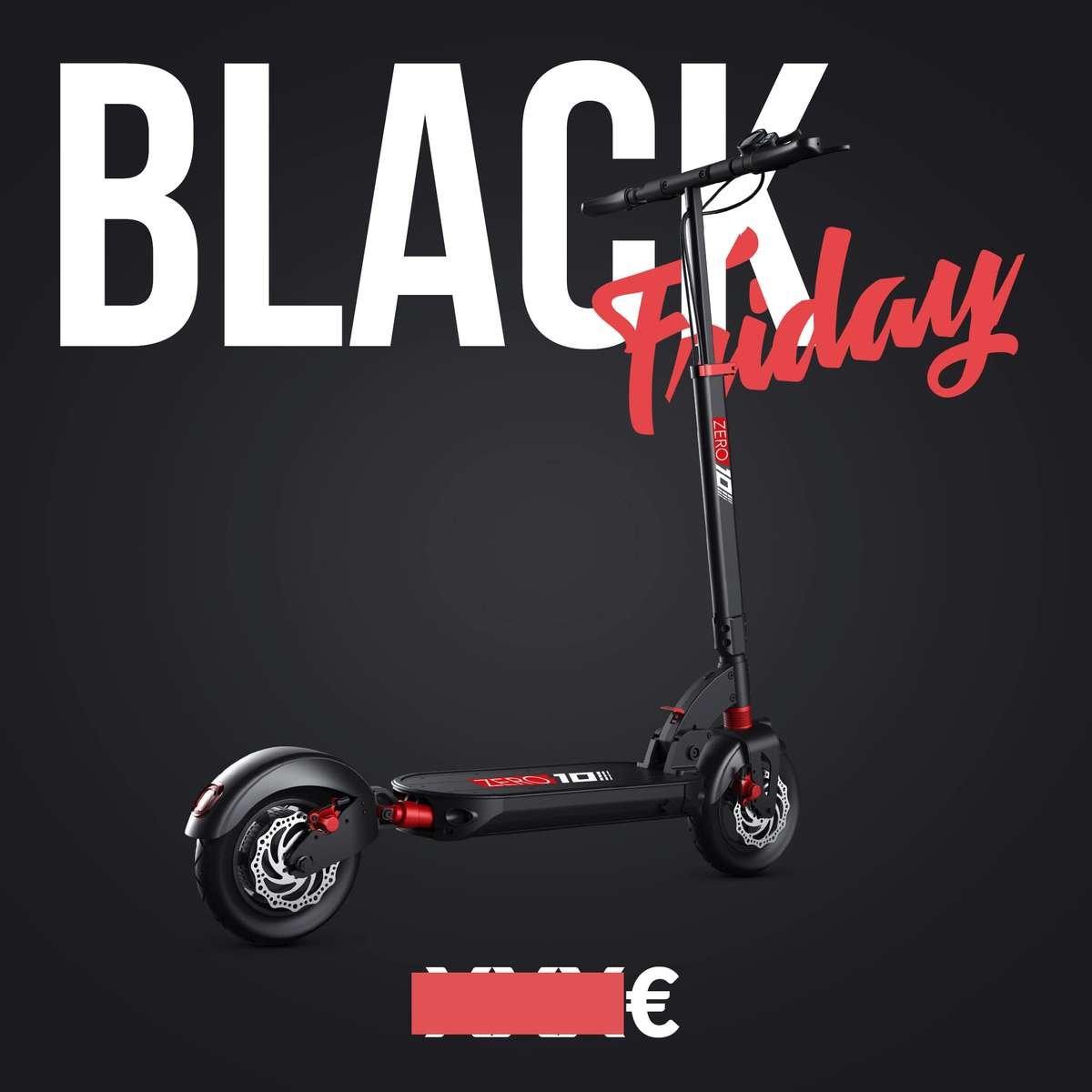 trottinette electrique black friday zero 8