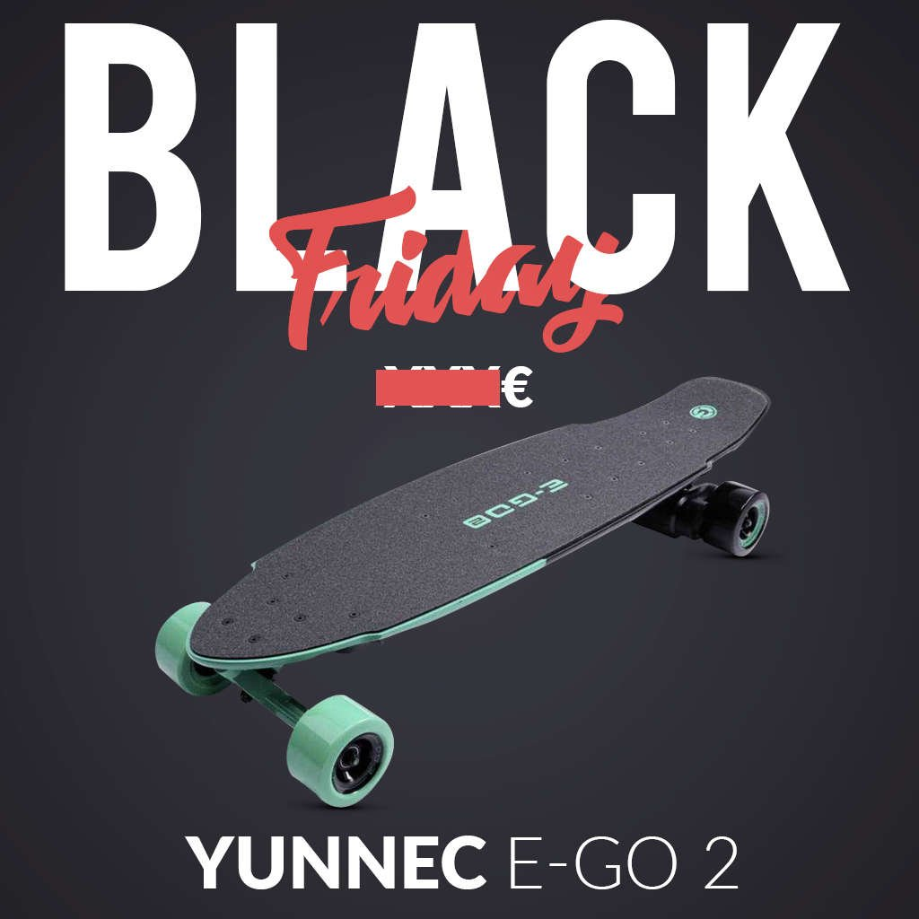 skate electrique black friday yuneec ego 2