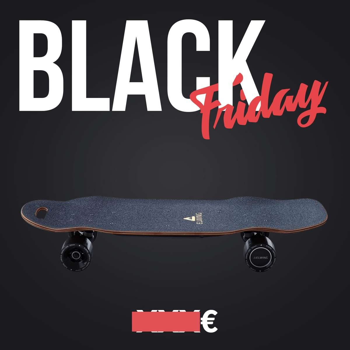 skate electrique black friday elwing nimbus