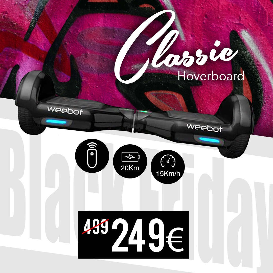 hoverboard black friday weebot pas cher