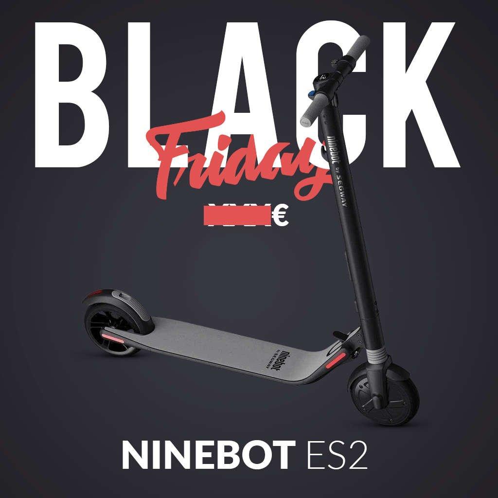 trottinette electrique black friday ninebot es2