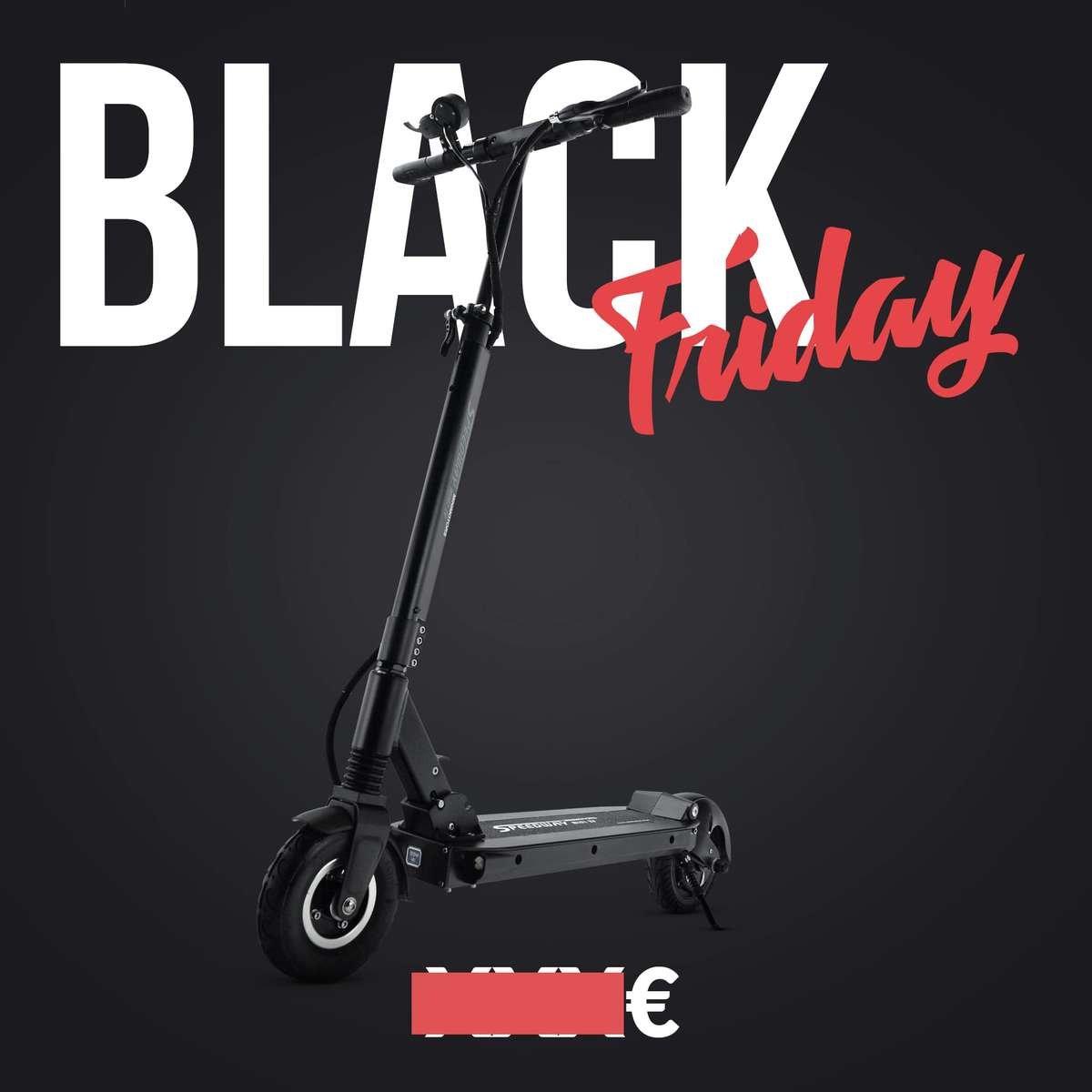 trottinette electrique black friday speedway mini 4