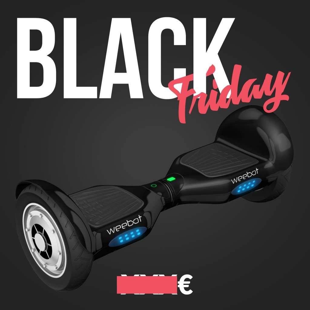 hoverboard black friday weebot 10 pouces