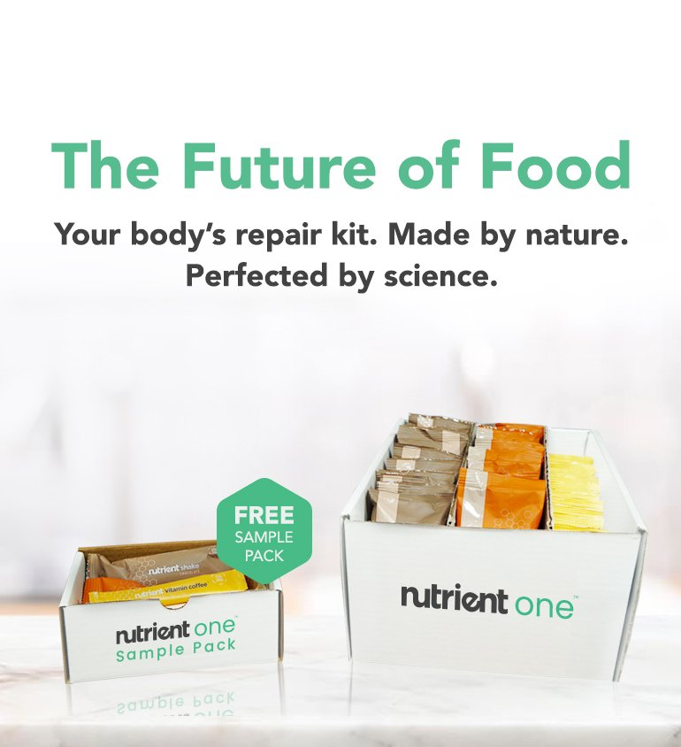 Your body's repair kit. Made by nature. Perfected by science.