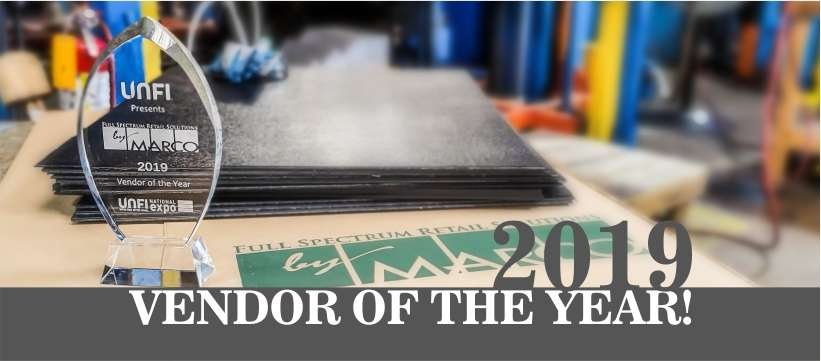 Vendor of the year!