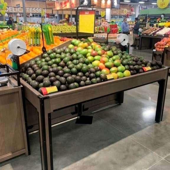 End Cap   Produce Displays  The Marco Company