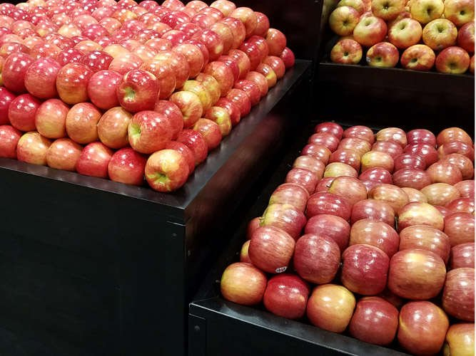 The Marco Company Produce Displays