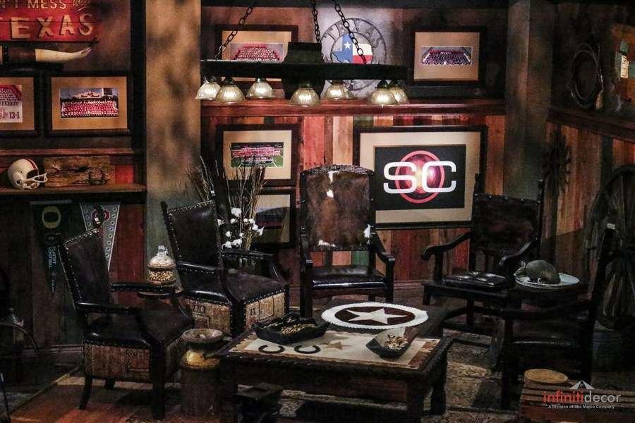 Custom 2014 College Championship Television and Radio Stage